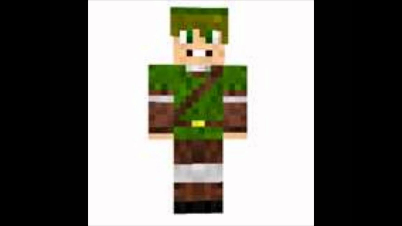 Minecraft top 5 skins [funny] - YouTube