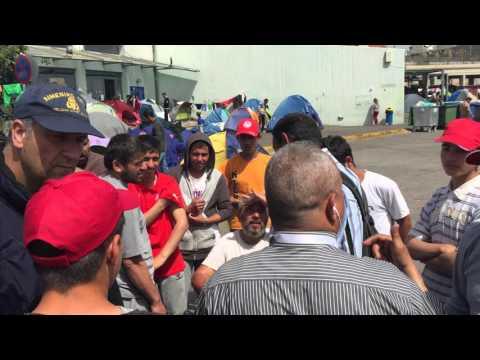 πρόσφυγες Πειραιάς