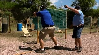 Andy at Sioux Falls Practical Shooters USPSA Pistol 6/5/16