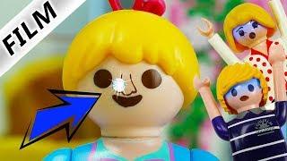 Playmobil Film Deutsch HANNAHS NASENPIERCING! TEENAGERIN AUßER RAND & BAND! Familie Vogel