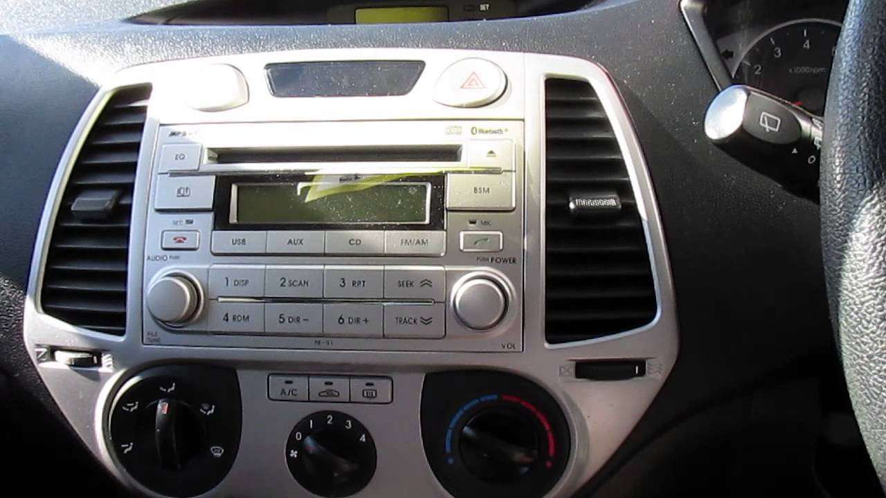 2011 Hyundai I20 Active 5 Door Automatic Hatch Youtube