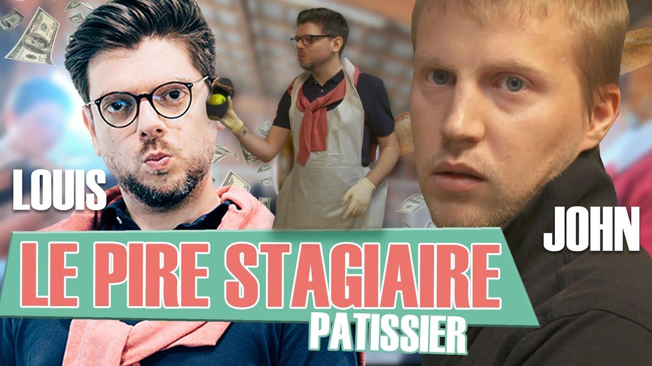 Le Pire Stagiaire : le pâtissier (version longue)