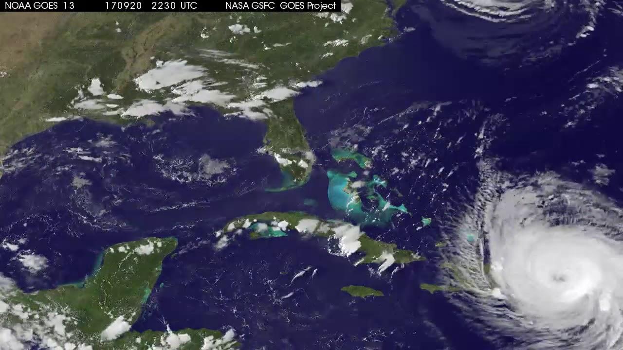 Hurricance Maria Latest Satellite View Sept YouTube - Latest satellite view