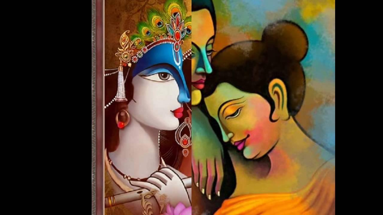 Buy Online Radha Krishna Canvas Painting Artfactoryin