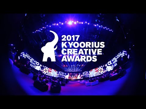 Kyoorius Creative Awards 2017 | The Awards Night