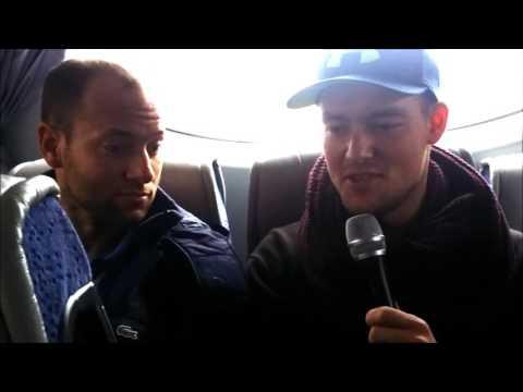 Fass on air Fabio Patrzek und Patrick Czajka zum Derby gegen den ECC Preussen