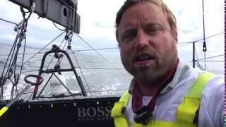 Fastnet Race day 2 update #3 onboard HUGO BOSS