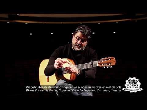 Muziekpublique World Music School: Antonio Segura (flamenco guitar): Tangos