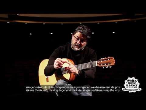 Muziekpublique World Music School: Antonio Segura (flamenco guitar): Tangos