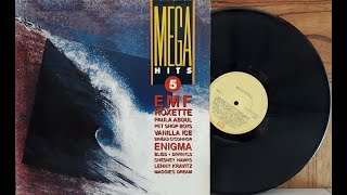Mega Hits 5 - Coletânea Pop Internacional - (Vinil Completo - 1991) - Baú Musical