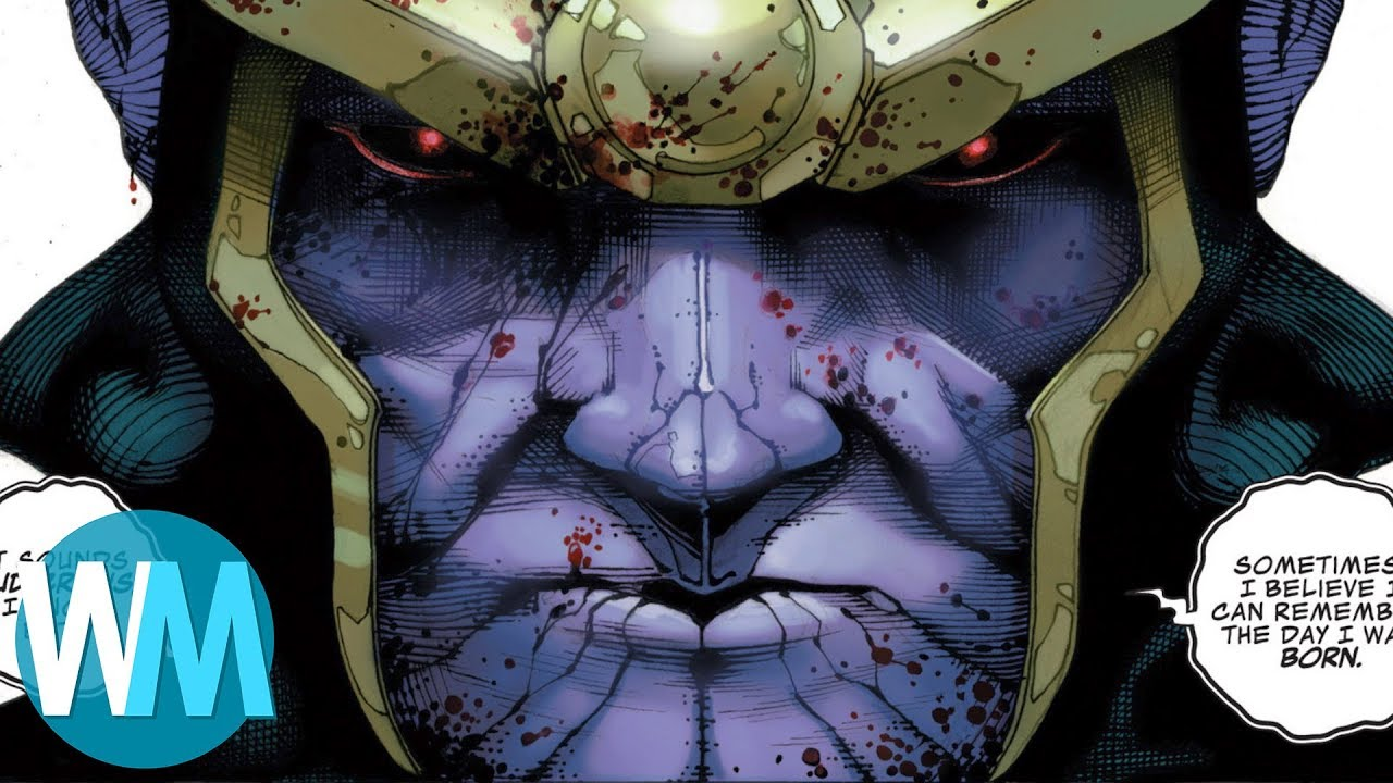 TOP 10 des PIRES ACTES commis par THANOS !
