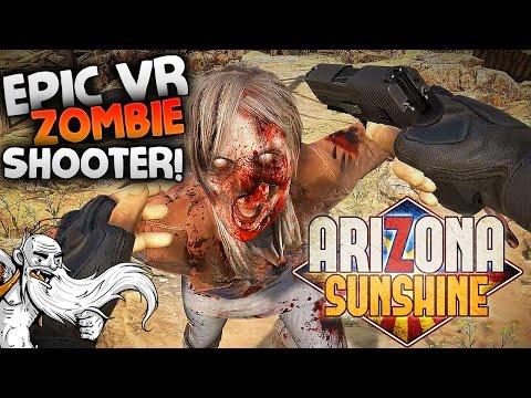 "Arizona Sunshine VR Gameplay - ""I PEED MY PANTS A LITTLE!!!""  - Let's Play Walkthrough"