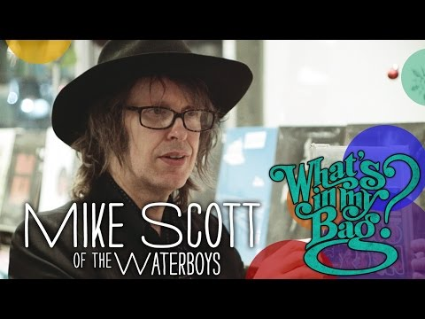 Mike Scott The Waterboys  Whats In My Bag?