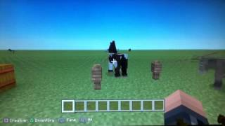 Minecraft - PS3 TU19 Horses , donkeys , mules