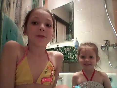 Влог купаемся в ванне с бомбой