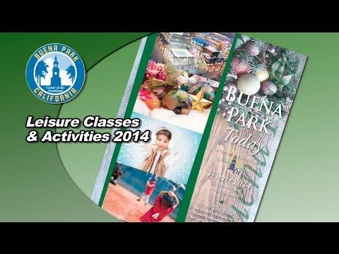 Leisure Classes in Buena Park 2014