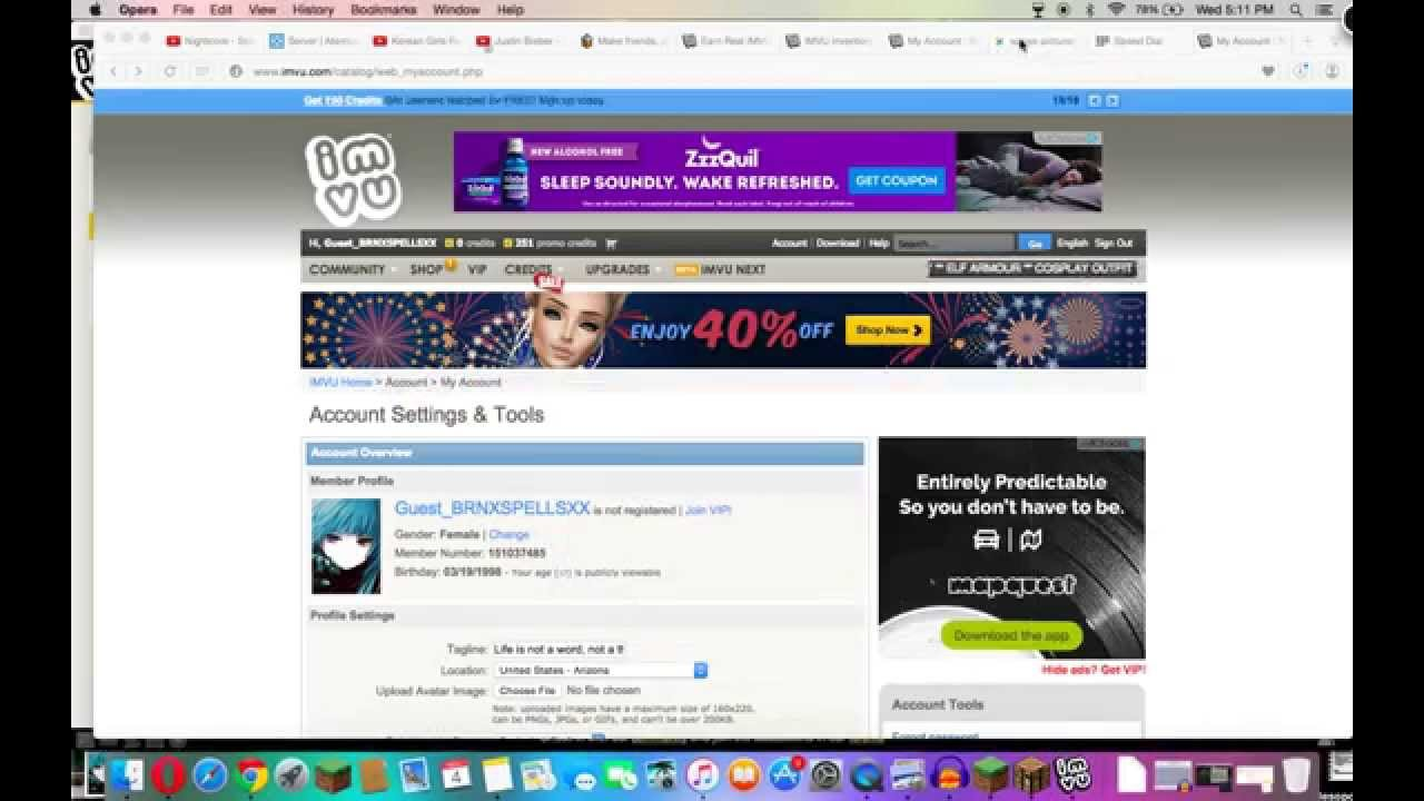 How To Get A Really Cool Profile Pic On Imvu