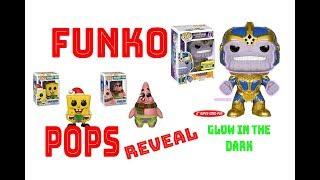 OPENING FUNKO POPS GLOW IN THE DARKS AND NEW SPONGEBOB !!!!!