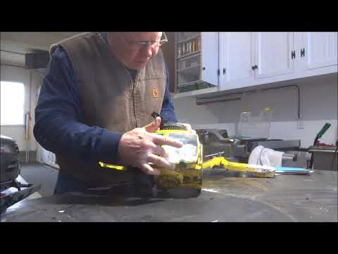 McCulloch Pro Mac 60 Fuel Tank Cleaning And Restoration