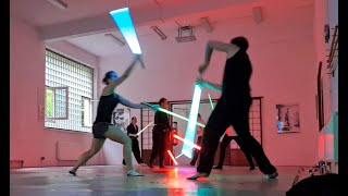 Dual Lightsabers Form - lightsaber practice at SaberArts, 20.06.2020