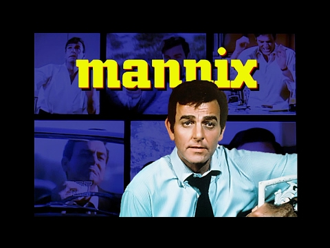 In Memory of Mike Connors  Mannix Season 7 Title Sequence Enhanced