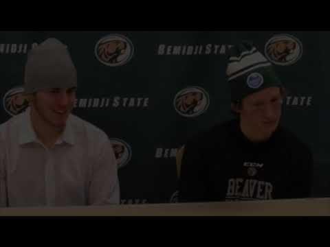 Bemidji State-Michigan Tech Hockey Day Minnesota (1/18/19)