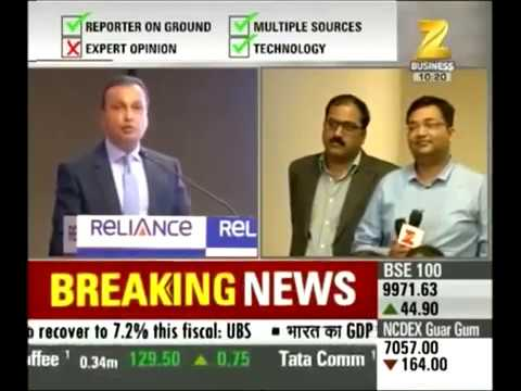 Anil Ambani loses his coolness in a press confrence