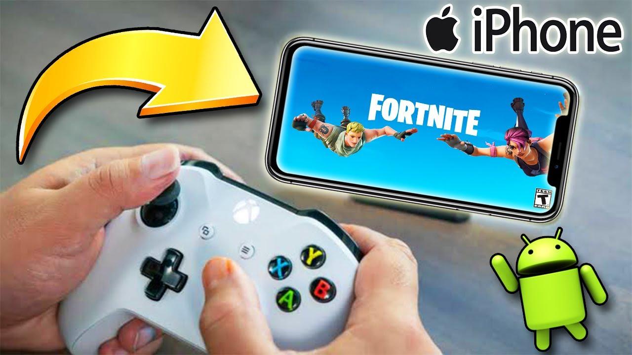 ¿Como Jugar FORTNITE en iPhone y Android?