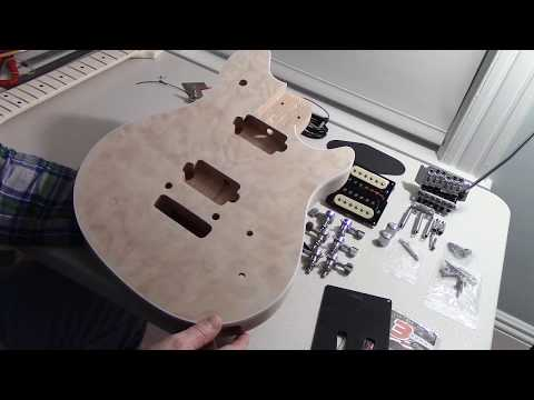 BYO EVH Wolfgang Guitar Quilted Top Kit - Initial Inspection.