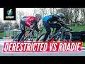 De-Restricted E Bike Vs Road Bike | Which Is Faster?