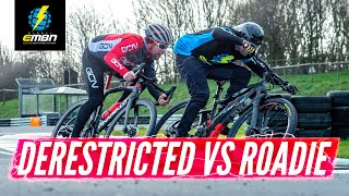 De-Restricted E Bike Vs Road Bike   Which Is Faster?