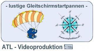 lustige Gleitschirm-Startpannen HD