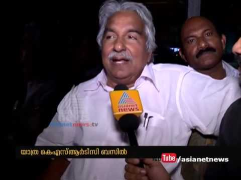 Oommen Chandy's KSRTC journey from Kollam to Thiruvananthapuram