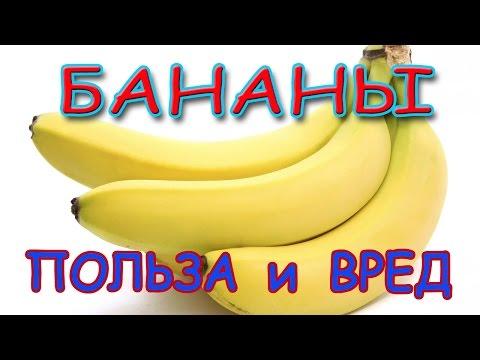 Бананы - их польза и вред для женщин и мужчин