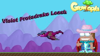 Growtopia - GameGuyDK Gets Violet Protodrake Leash!