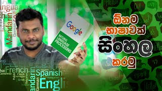 How to Translate any Language to Sinhala Search