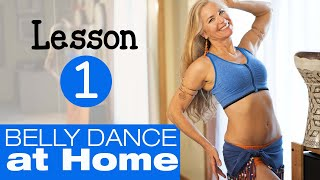 How to Belly Dance at Home (BEGINNER TUTORIAL) - Jensuya Belly Dance
