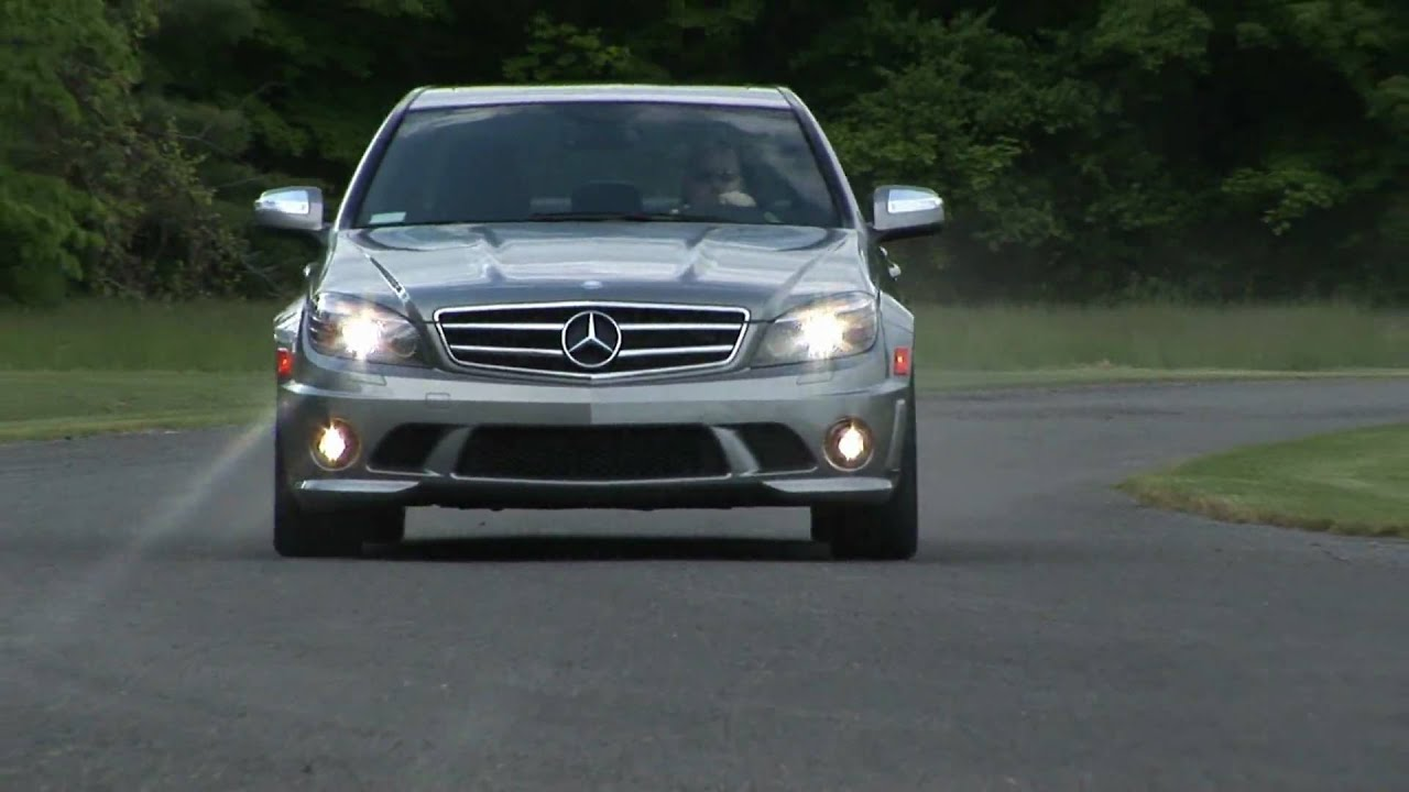 2009 mercedes benz c63 amg youtube for Mercedes benz c63 amg 2009