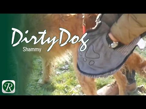 Dirty Dog Shammy - das ultra-saugfähige Hundehandtuch