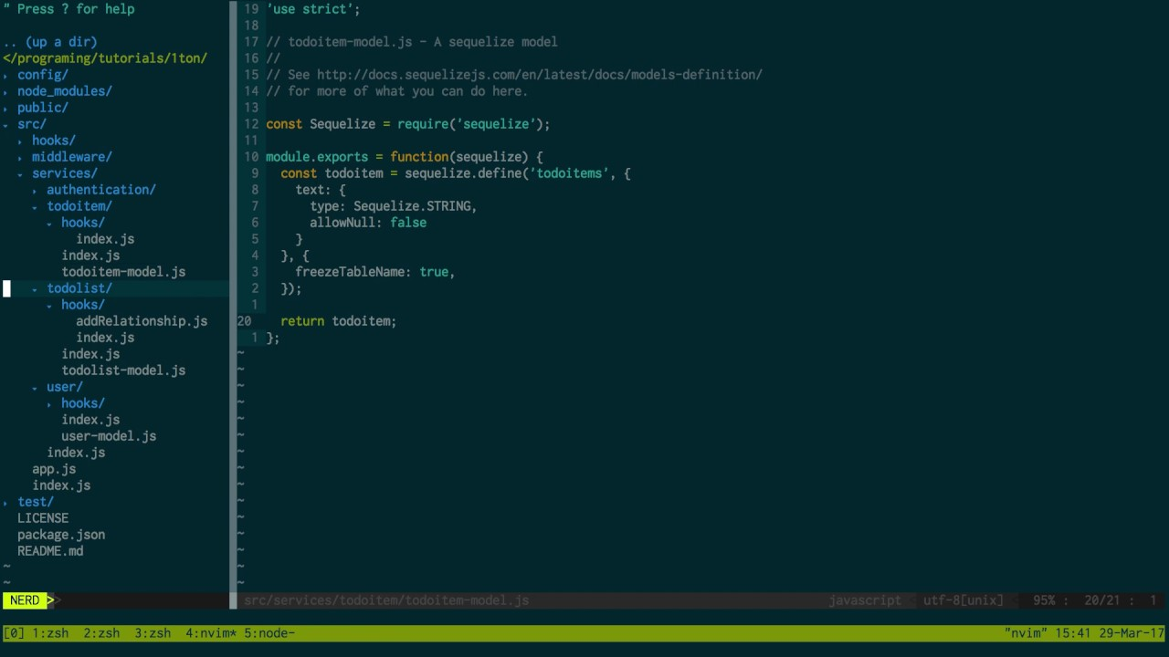 Feathersjs 1 to N Relationship with PostgreSQL