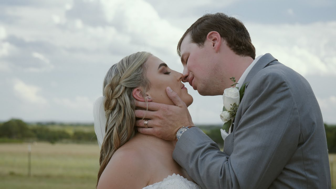 Kendall & Brandon - Beautiful Country Wedding at Featherstone Ranch in Stonewall, Texas