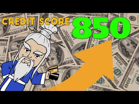 How to Get an 850 CREDIT SCORE