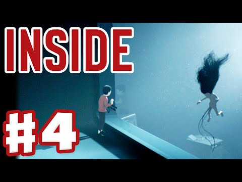 Inside - Gameplay Walkthrough Part 4 - Playdead's Inside (Indie Game for Xbox One and PC)