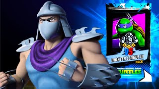 Opening of the super prize for the PVP tournament - Teenage Mutant Ninja Turtles Legends