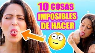 10 COSAS IMPOSIBLES DE HACER para la Mayoría de las Personas! SandraCiresArt