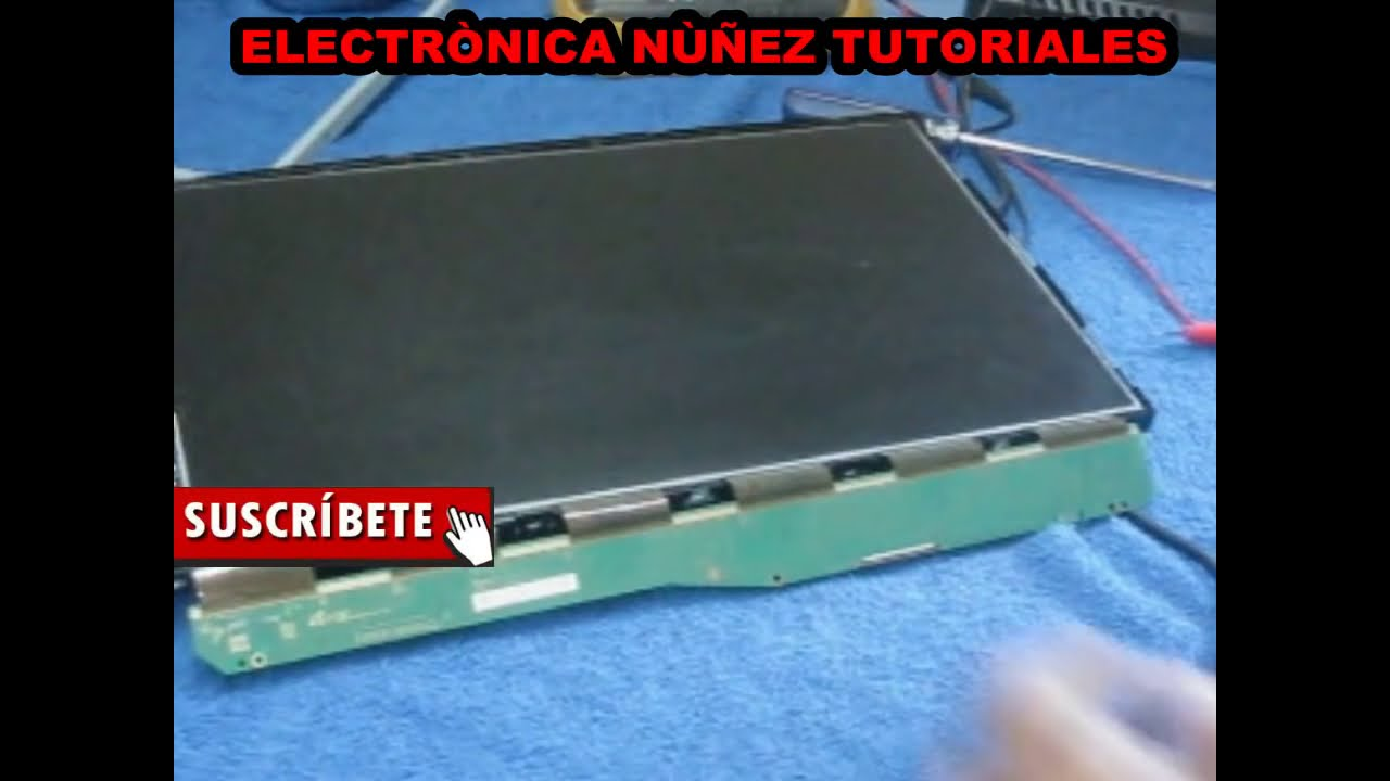 SAMSUNG LED TV WITH WHITE SCREEN CHECKING SIGNAL LVDS