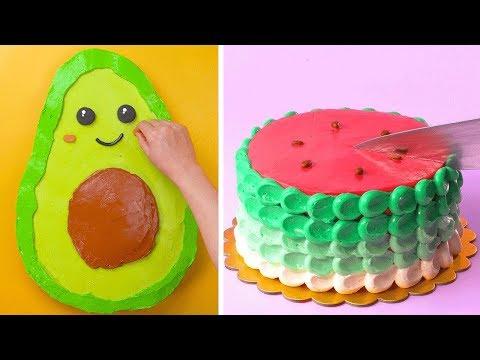 10-fun-exciting-cake-decorating-ideas-|-most-satisfying-cake-decorating-tutorials-|-tasty-plus