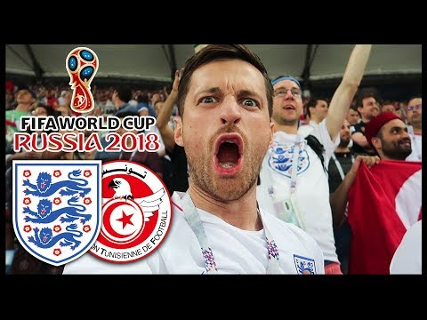 ENGLAND vs TUNISIA! - RUSSIA WORLD CUP 2018