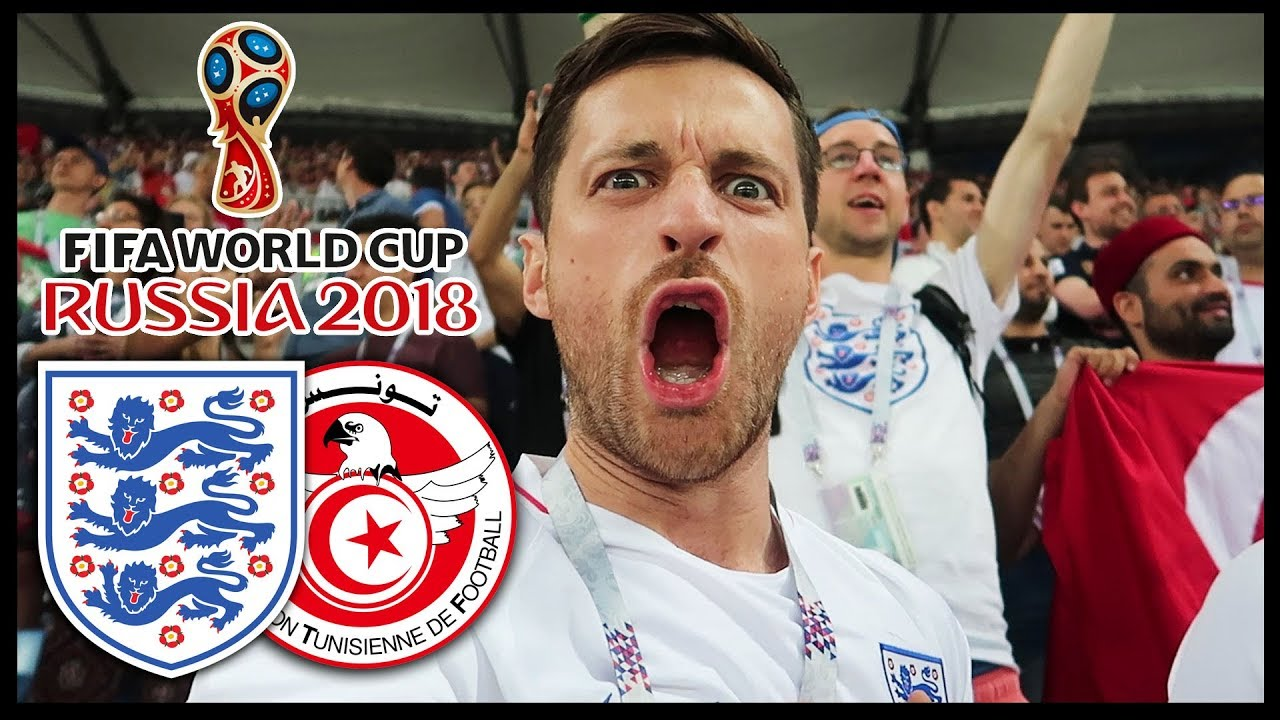 ENGLAND vs TUNISIA! - RUSSIA WORLD CUP 2018
