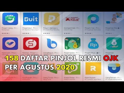 Ada 158 Berikut Daftar Pinjol Terbaru Yang Terdaftar Berizin Ojk Per Agustus 2020 Youtube